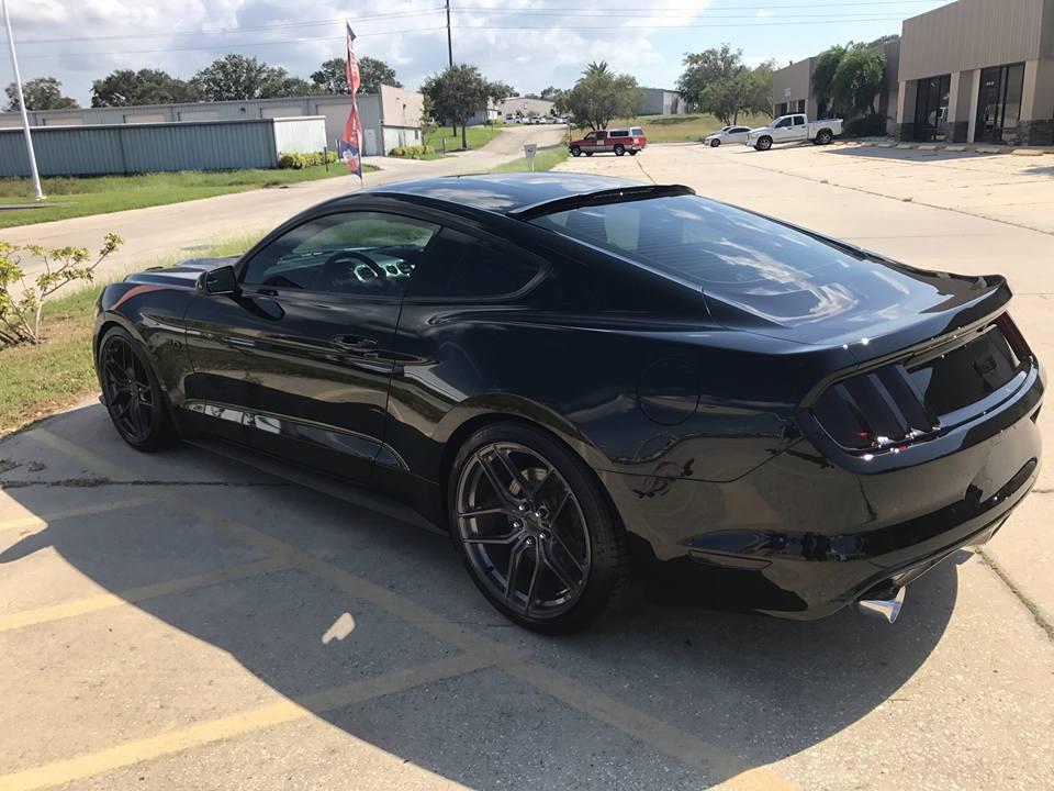 Mustang Detil