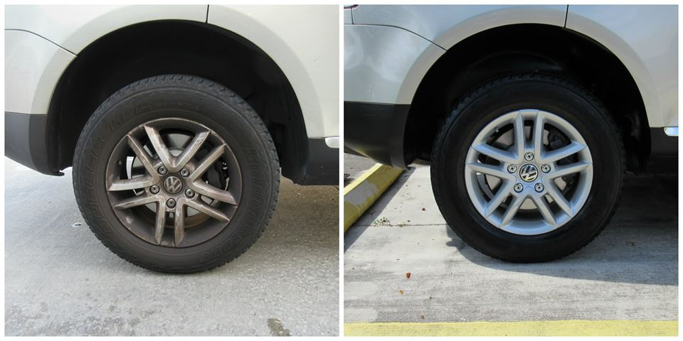 Wheels Before After